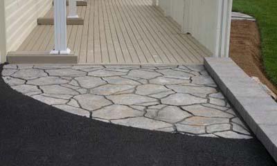 Stone walkways, driveways, and retaining walls in Dartmouth
